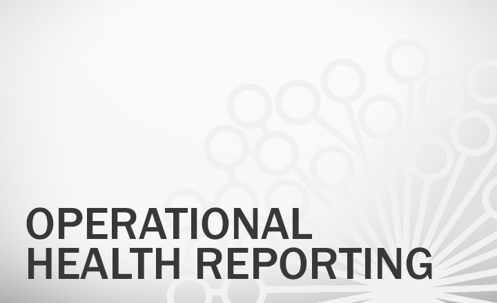 Operational Health Reporting