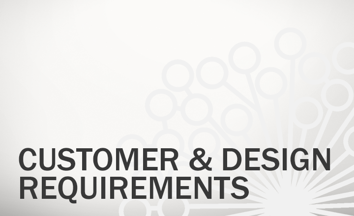 Customer and Design Requirements