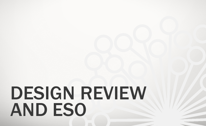 Design Review and Engineering Sign-Off (ESO)
